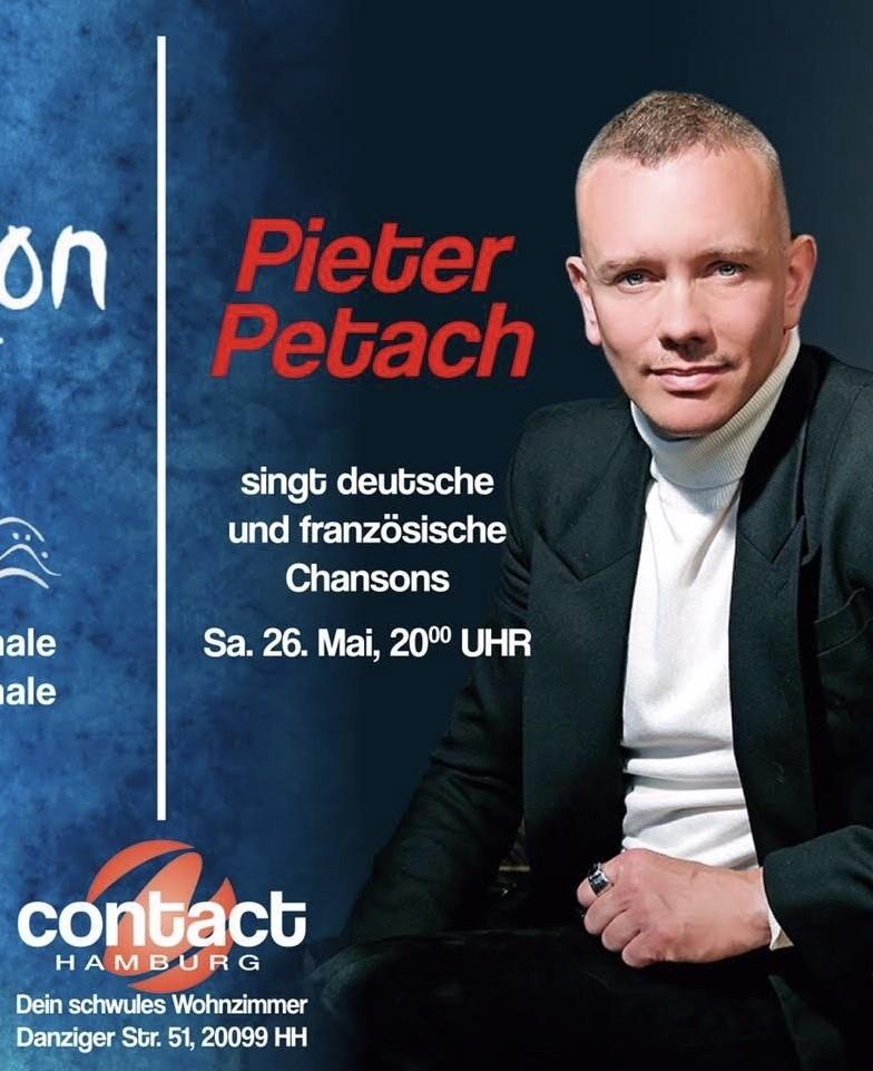 Pieter optreden Hamburg